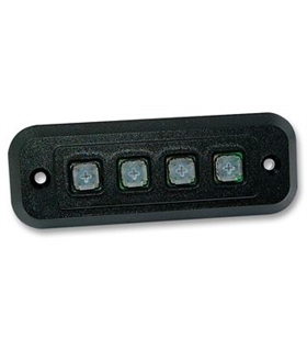 GS040202- Storm IP54 4 Key Polymer Keypad - GS040202