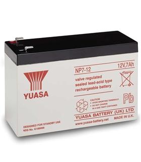 Bateria Gel Chumbo Panasonic UP-VWA1232P2 12V 6.4Ah - UPVWA1232P2