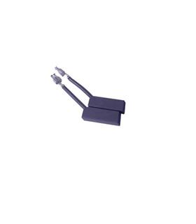 Escova carvao 5X12.7X25mm Par Hoover - EC5X12.7X25