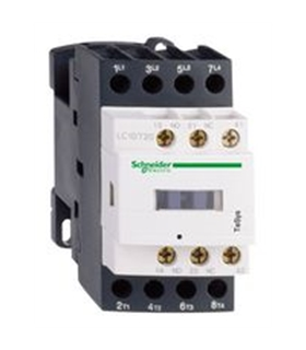 LC1D258BL - Contactor DIN 24VDC DPST-NO, DPST-NC, 4 Pole - LC1D258BL