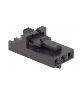 MX-70066-0177 - Ficha Femea Molex 3 pinos 2.54mm - MX700660177