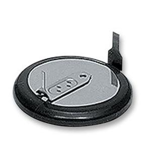Pilha de Lithium Cr1220 com Pinos Circuito Impresso - 169CR1220CP