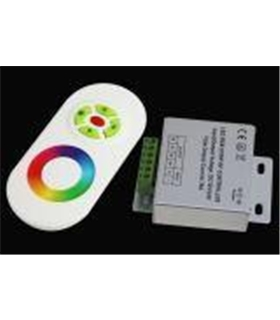 320/S - Controlador RGB 12Vdc Touch 15A - LL320/S
