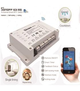 Sonoff 4CH PRO - 4 Channel WiFi Wireless Switch - MX170424002