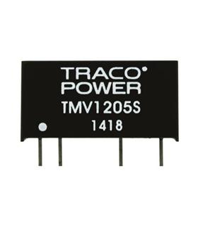 Conversor: DC/DC; 1W; In: 10.8÷13.2V; out:5VDC 200mA - TMV1205S