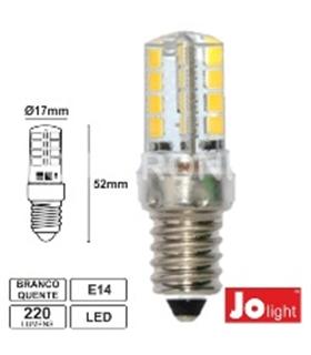 Lampada E14 3W Dec. Opalina 3000K - LL202