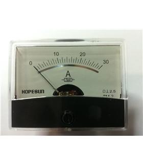 Amperimetro Analógico 0-30A - A30A