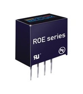 ROE-0512S -  Isolated Board Mount DC/DC 12V 1W - ROE0512S