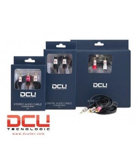 DCU30701250 - Cabo Audio 3.5 St M / 2 RCA M 5mt Profissional - DCU30701250