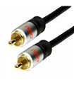 DCU30751130 - Cabo Audio Coaxial 1 RCA M / M 2mt Prof.
