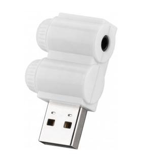 Placa de Som USB com Saida Para Auricular iPhone 4 Pinos - MX96291