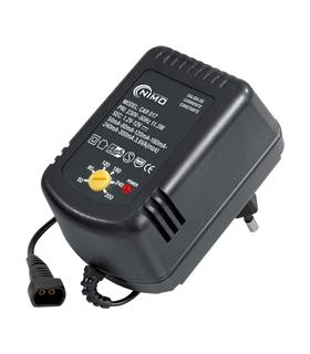 Carregador de baterias nicd-nimh 1.2 - 12Vcc - CAR017