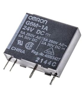 G6M-1A 24DC - Rele 24VDC 5A 5mm - G6M1A24DC