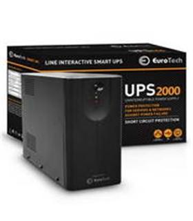 UPS2000EU - SMART UPS 2000VA / 1200W 1USB 2RJ45 3SCHUKO - UPS2000VA