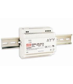 Input. 88-264VAC Output 24VDC 4.2A 100W - DR10024