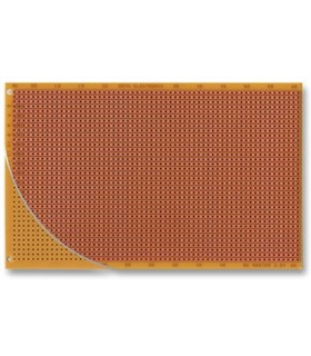 Placa Perfurada Pistas 100x160mm Roth - RE524P
