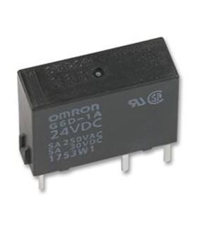 G6D-1A-ASI-24VDC - RELAY, PCB, SPCO, 24VDC - G6D-1A-24VDC