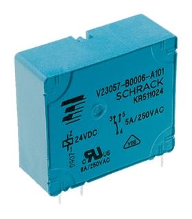V23057-B0006-A101 - Rele 24V 5A 250VAC - V23057B006A101