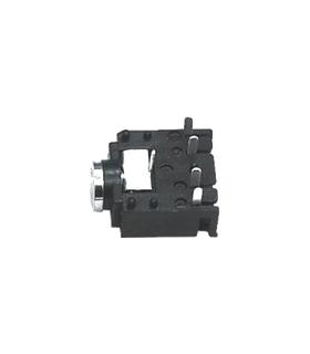 Ficha Jack Fêmea Painel 3.5mm Stereo Plastica - J3FSP