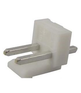 Ficha Pin Socket 2 Pinos p/ Circuito Impresso 3.96mm 2 pinos - 69PSG2MCI