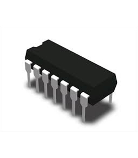 MC34074PG - IC, OP-AMP, QUAD, 14DIP - MC34074