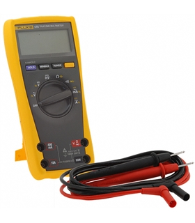 Multímetro digital TRMS Medidas de Vac/dc, A ac/dc, Ohm - FLUKE175