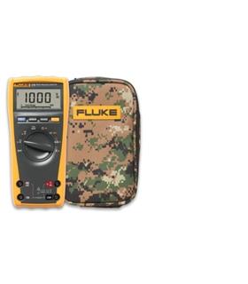 Multímetro digital TRMS + Estojo Flexivel Camo C25 - FLK175-C25WD