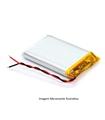 L372466 - Bateria Recarregavel Li-Po 3.7V 450mAh 3.7x24x66mm