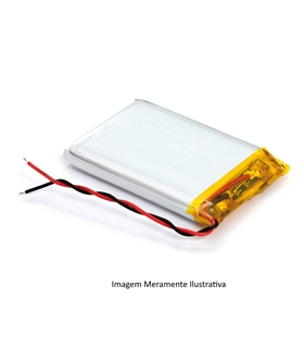 LP601730 - Bateria Recarregavel Li-Po 3.7V 250mAh 6x17x30mm - LP601730