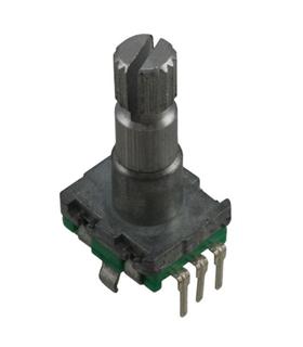 Encoder 15mm c/ Interruptor Veio Redondo 15mm 20 Det - MXEN11HSB1AQ20
