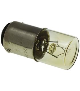Lampada baioneta 24V 5W BA15D - BA15D24V