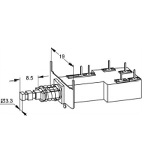Interruptor ITT  P/C.I. - 914ITTCI