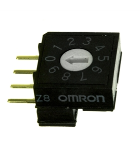 Encoder DEC/BCD 10 Posiçoes 200mR Omron - A6RV101RF