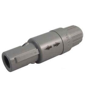 Circular Connector, 1P Series, Cable Mount Plug, 4 Contact - PAGM04GLC52G