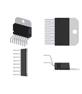 TDA7293 - IC, AMP, AUDIO, 120V, 100W - TDA7293