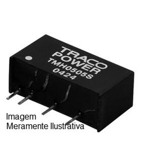 TMH 0512D - CONVERTER, DC/DC, 2W, +/-12V/0.1A - TMH0512D