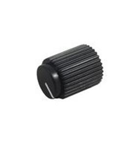 Botao Potenciometro 6mm Preto - CPAE146S6.0H