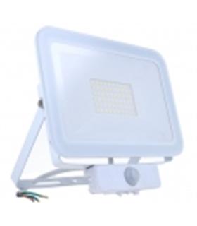 Projector Led Branco Frio Com Sensor 230VAC 50W 6000k - MX3063481
