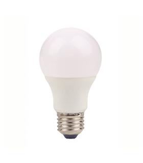 Lâmpada E27 A55 LED 5W 3000K Branco Quente 380lm - E27A555WWW