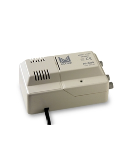 Amplificador para interior 1 ent, 2 sal, UHF - AI-200