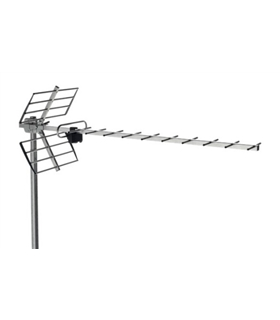 Antena UHF, c/ 21/60, G = 12 dB - BU-116