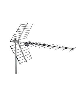 Antena UHF, c/ 21/60, G = 14 dB - BU-456