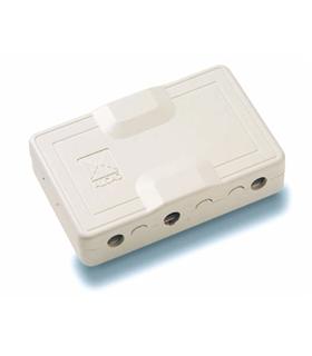 Derivador de vídeo para cabo coaxial com 4 saidas derivadas - DIV-024