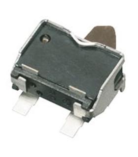 Pulsador SPST-NO, Solder, 10 mA, 5 V, 2.1 mm - ESE22MH24