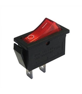 Interruptor 1 Circuito 2 Posições ON/OFF 16A 250V - MX51540A