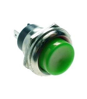 Pulsador 1 Circuito OFF/(ON) Verde - MX51931