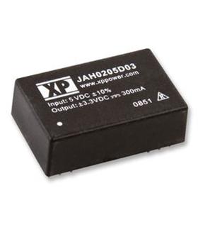 JAH0205D05 - DC DC Converter 2W Dual 5V - JAH0205D05