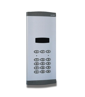 Placa de portaría com grupo fónico digital, display numérico - PAK-03020