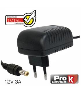 ALIMENTADOR SWITCHING 12V 3A PARA LCD PROK - FAS12V3A