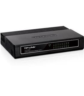 TL-SF1016DS - SWITCH TP-LINK SF1016DS 16 PORTAS 10/100MBPS 3 - SF1016D